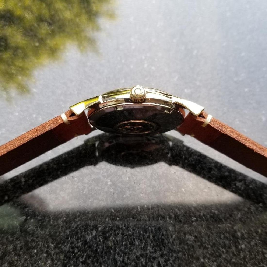 Omega Vintage Constellation Automatic 1960s Gold Cappd - 6