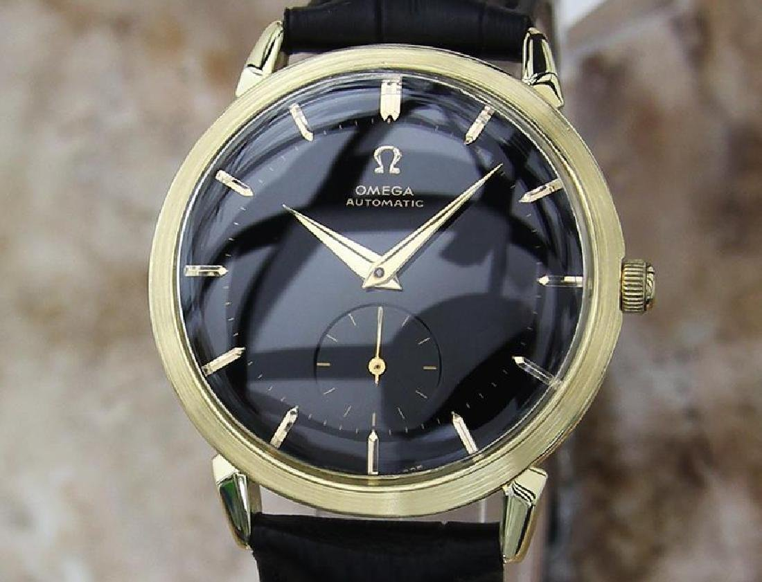 Omega Swiss Made 1960s Gold 18k Bumper Automatic 34mm