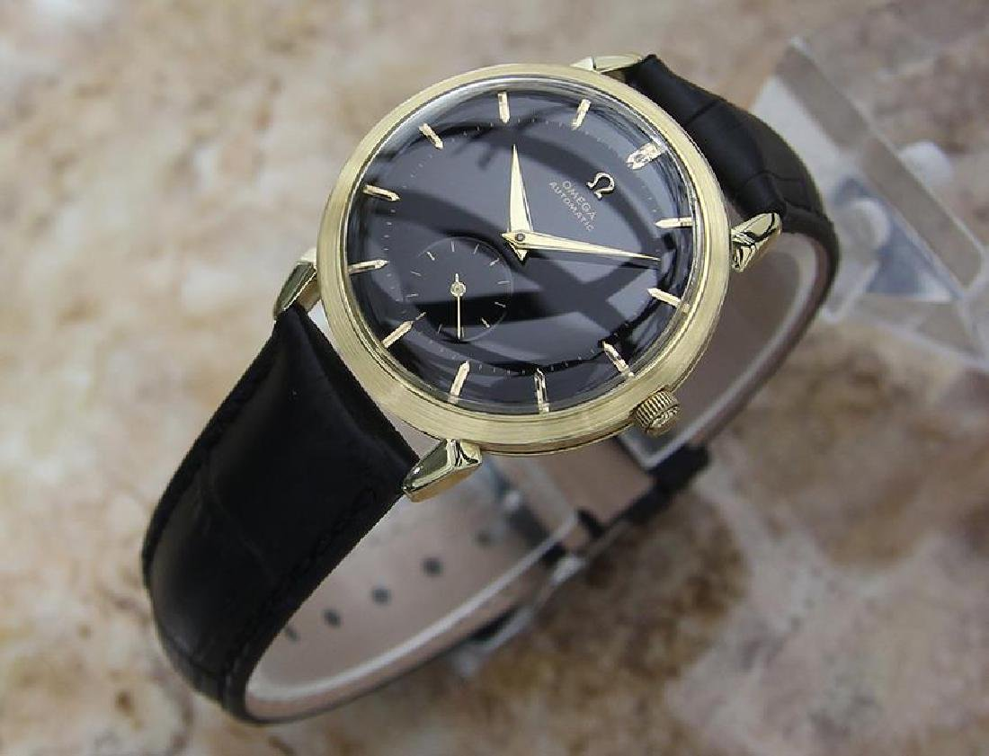 Omega Swiss Made 1960s Gold 18k Bumper Automatic 34mm - 2