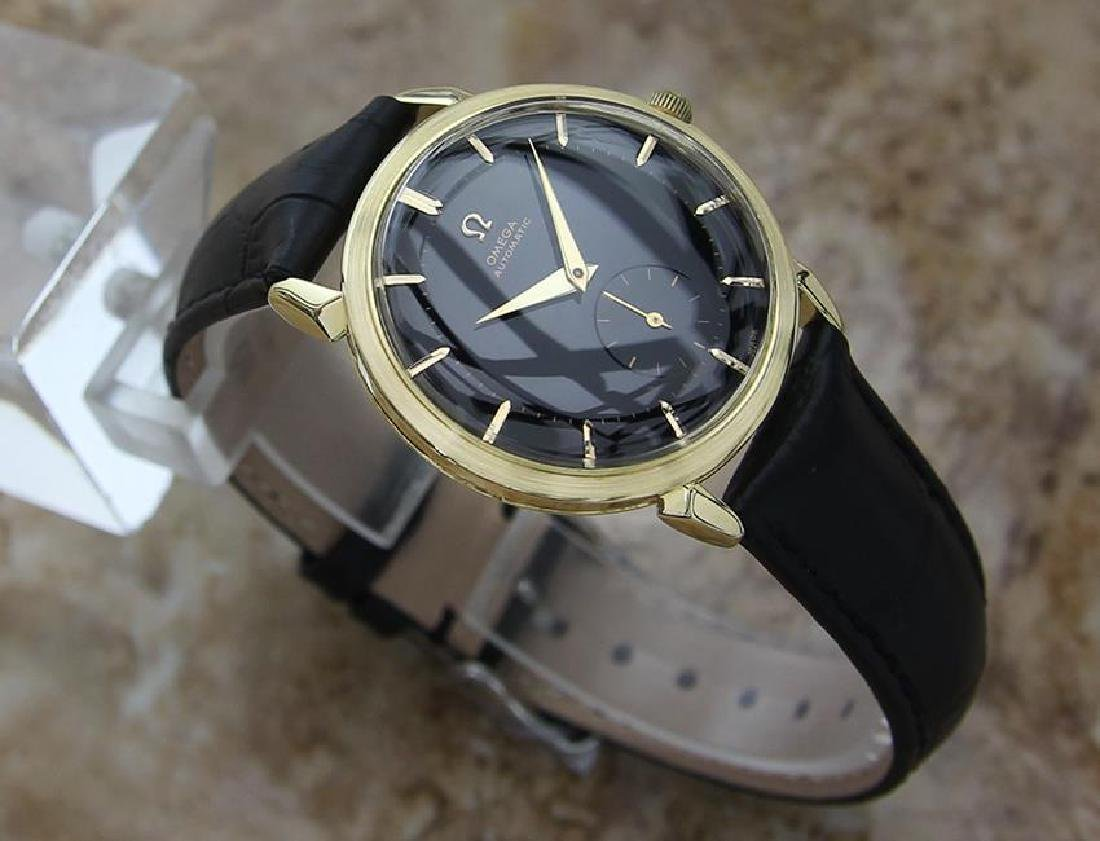 Omega Swiss Made 1960s Gold 18k Bumper Automatic 34mm - 3