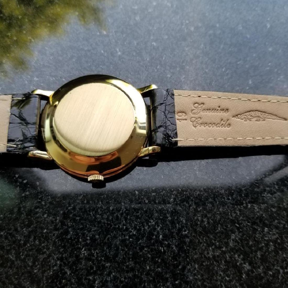 Omega Automatic Vintage 1970s Solid 18k Gold Swiss 34mm - 7