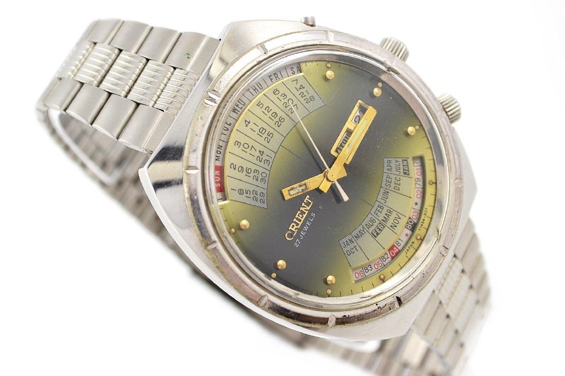 Vintage Orient Multi Year Calendar Automatic Stainless - 2