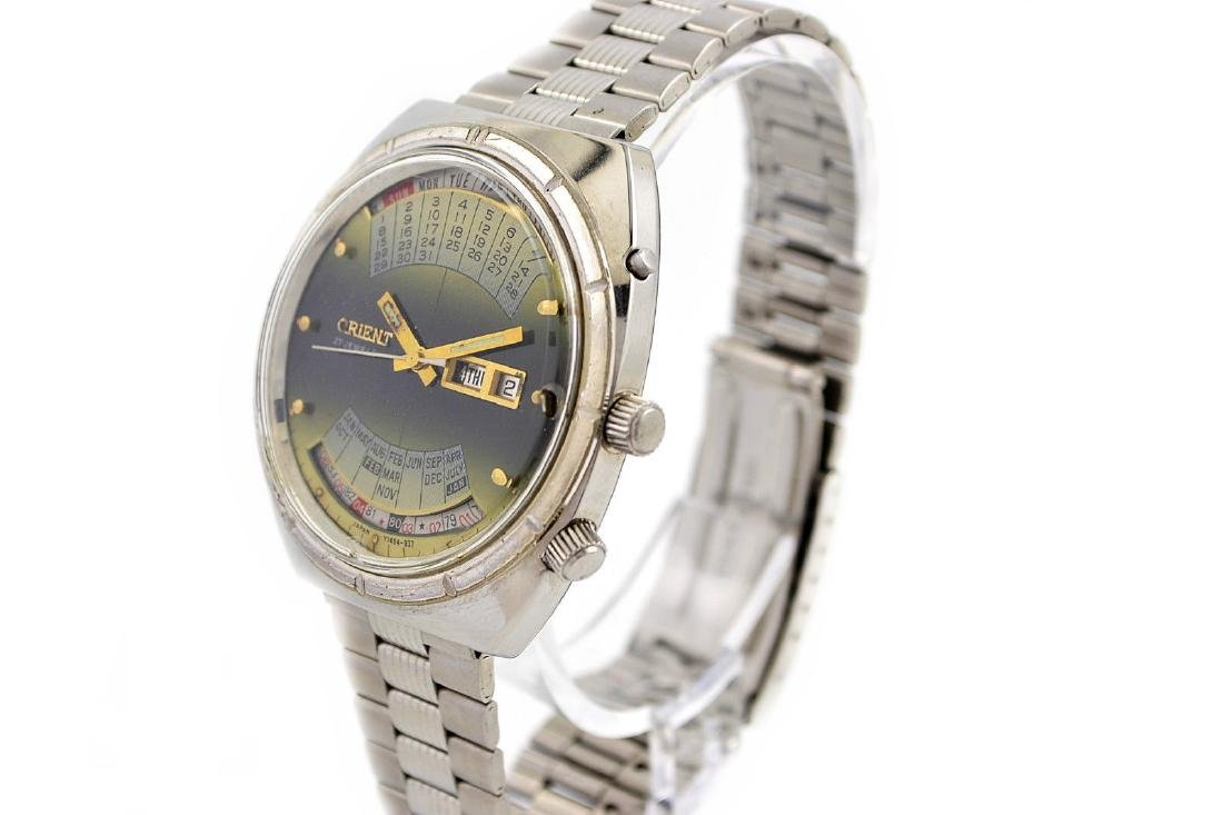 Vintage Orient Multi Year Calendar Automatic Stainless - 4