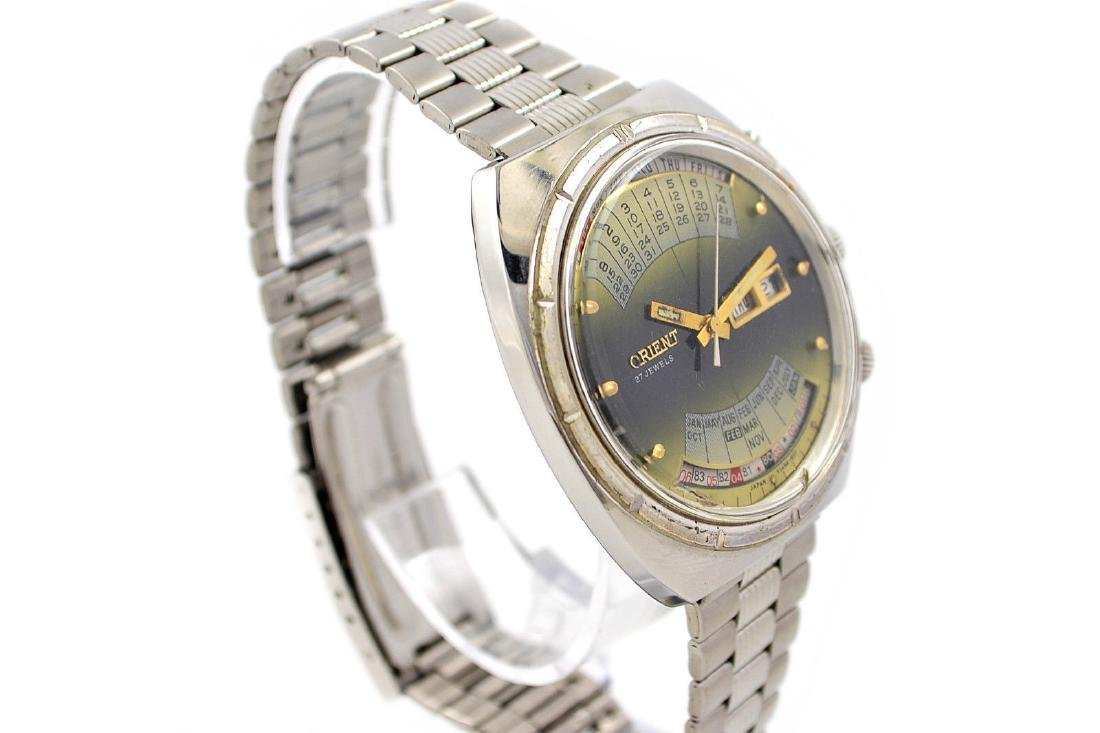 Vintage Orient Multi Year Calendar Automatic Stainless - 6
