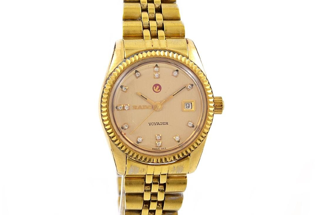 Vintage Rado Voyager Gold Plated Automatic Ladies