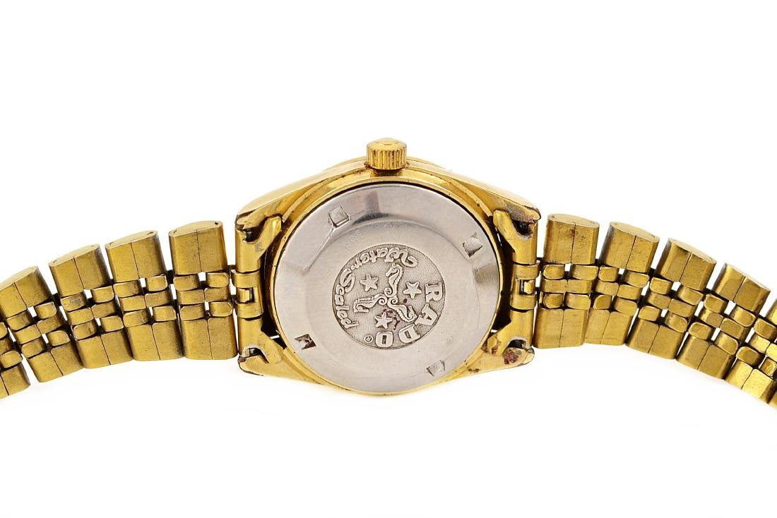 Vintage Rado Voyager Gold Plated Automatic Ladies - 4