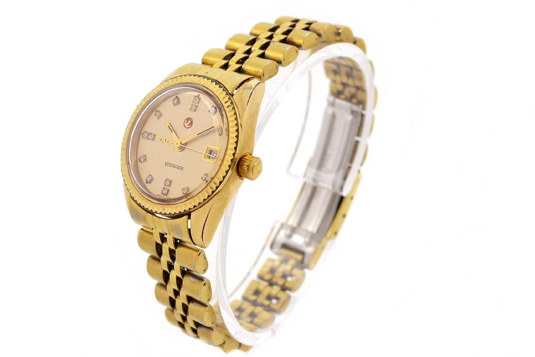 Vintage Rado Voyager Gold Plated Automatic Ladies - 7