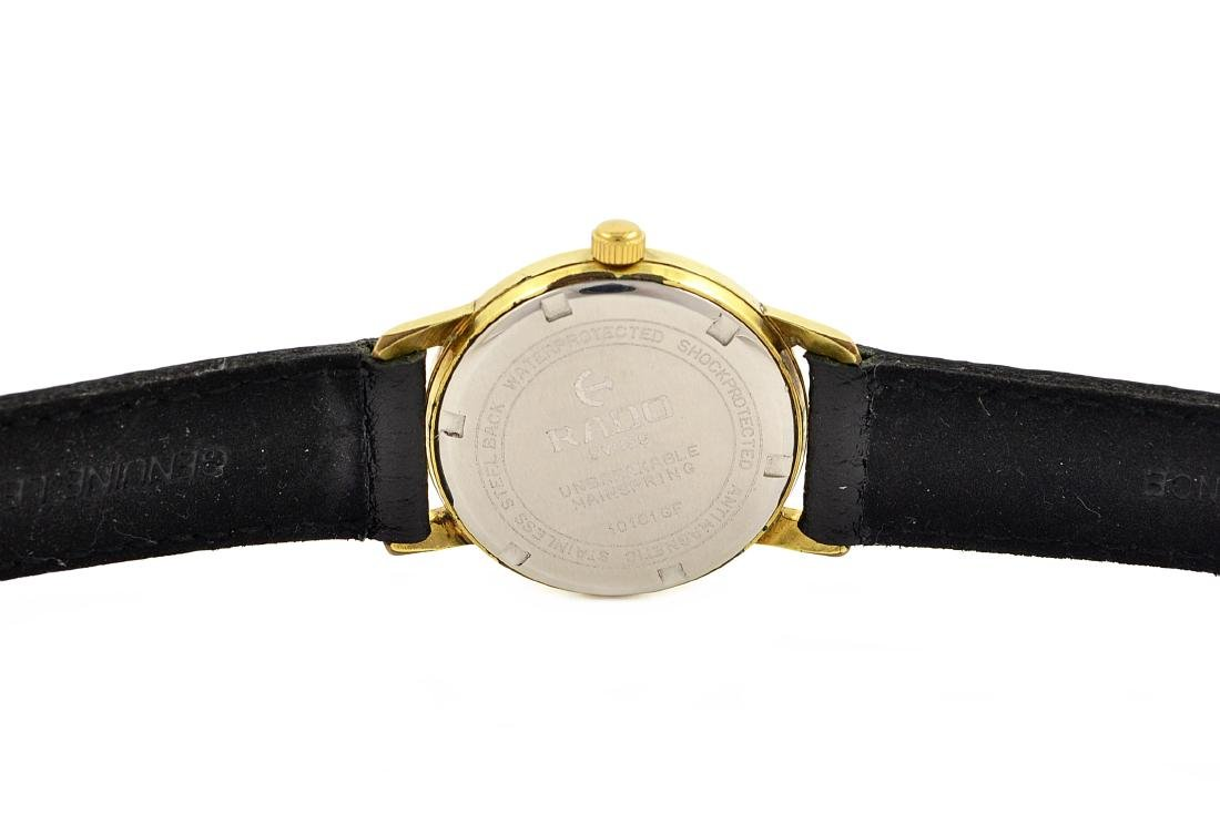 Vintage Rado Hand Winding Distinction Gold Plated - 4