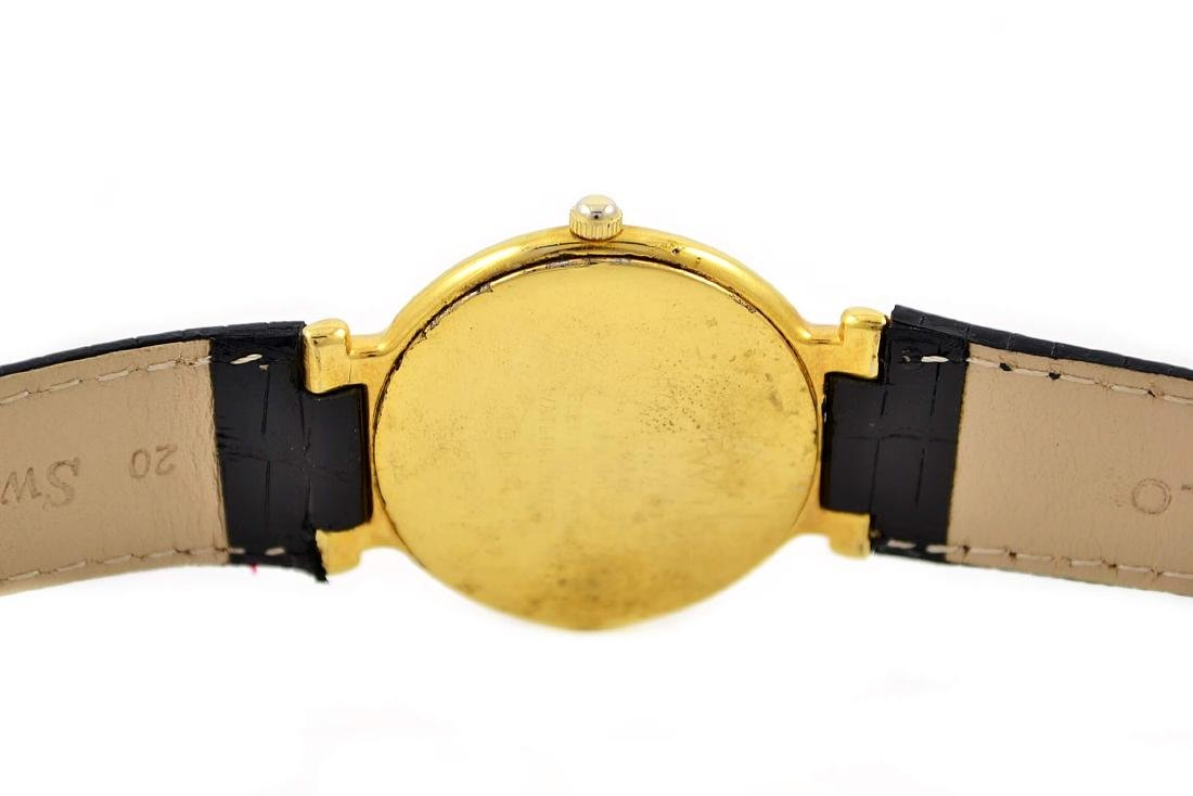 Vintage Raymond Weil 18kt Gold Plated Geneve Quartz - 4