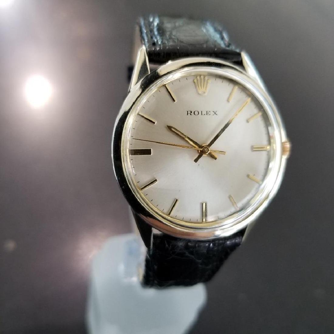 Rolex Vintage 1972 Automatic Rare 35mm 14k Gold Filled - 2