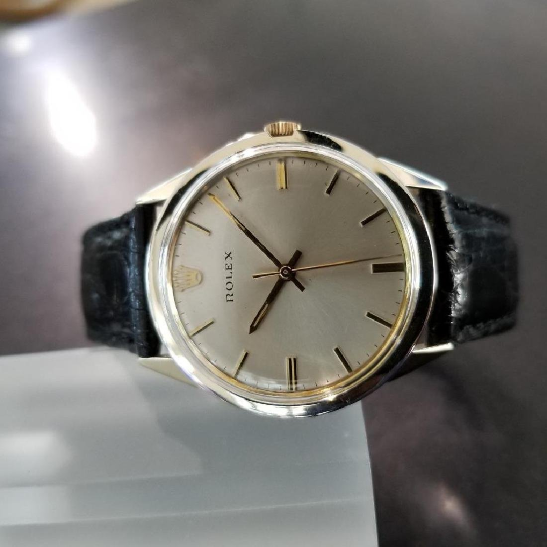 Rolex Vintage 1972 Automatic Rare 35mm 14k Gold Filled - 3