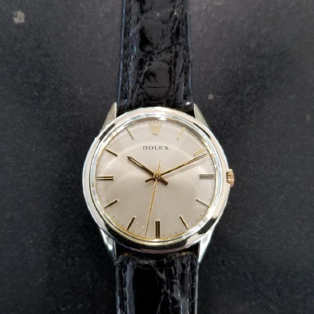 Rolex Vintage 1972 Automatic Rare 35mm 14k Gold Filled - 4