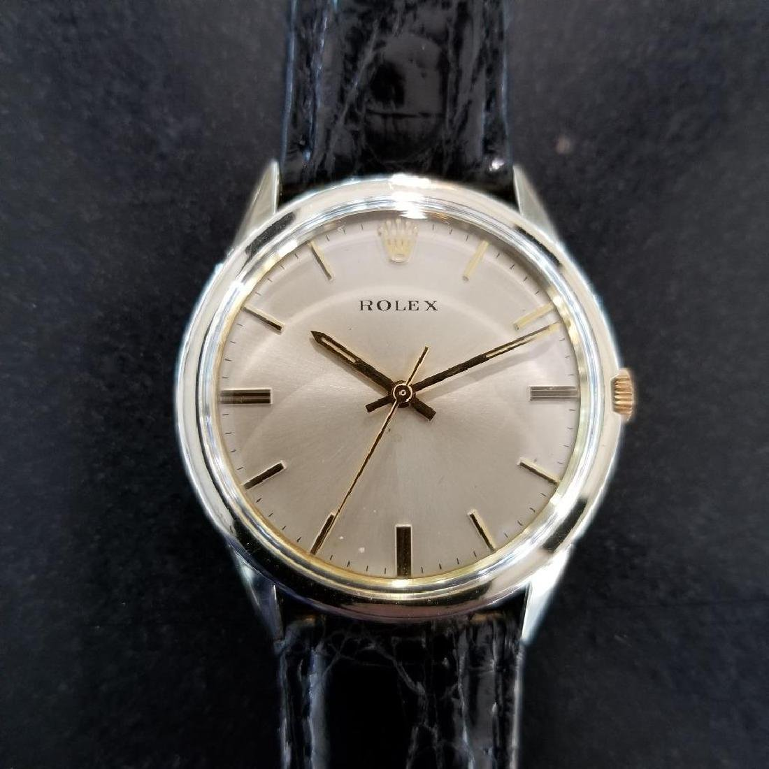 Rolex Vintage 1972 Automatic Rare 35mm 14k Gold Filled - 5