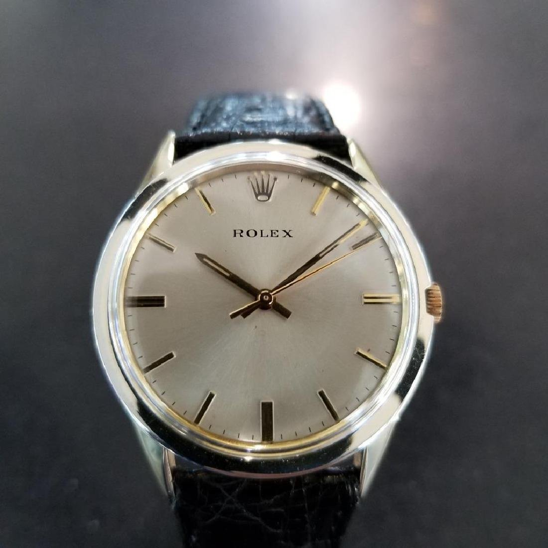 Rolex Vintage 1972 Automatic Rare 35mm 14k Gold Filled - 6