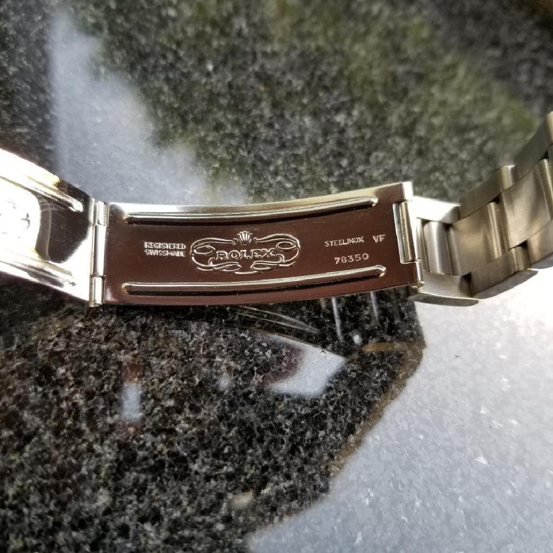 Rolex Vintage Precision Oysterdate 1954 6694 Manual - 8