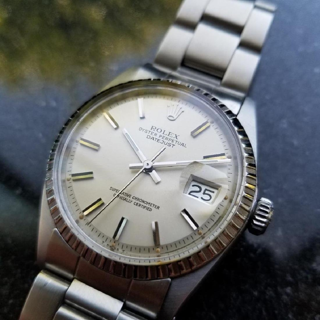 Rolex Oyster Perpetual 1603 Datejust Vintage 1977 Auto