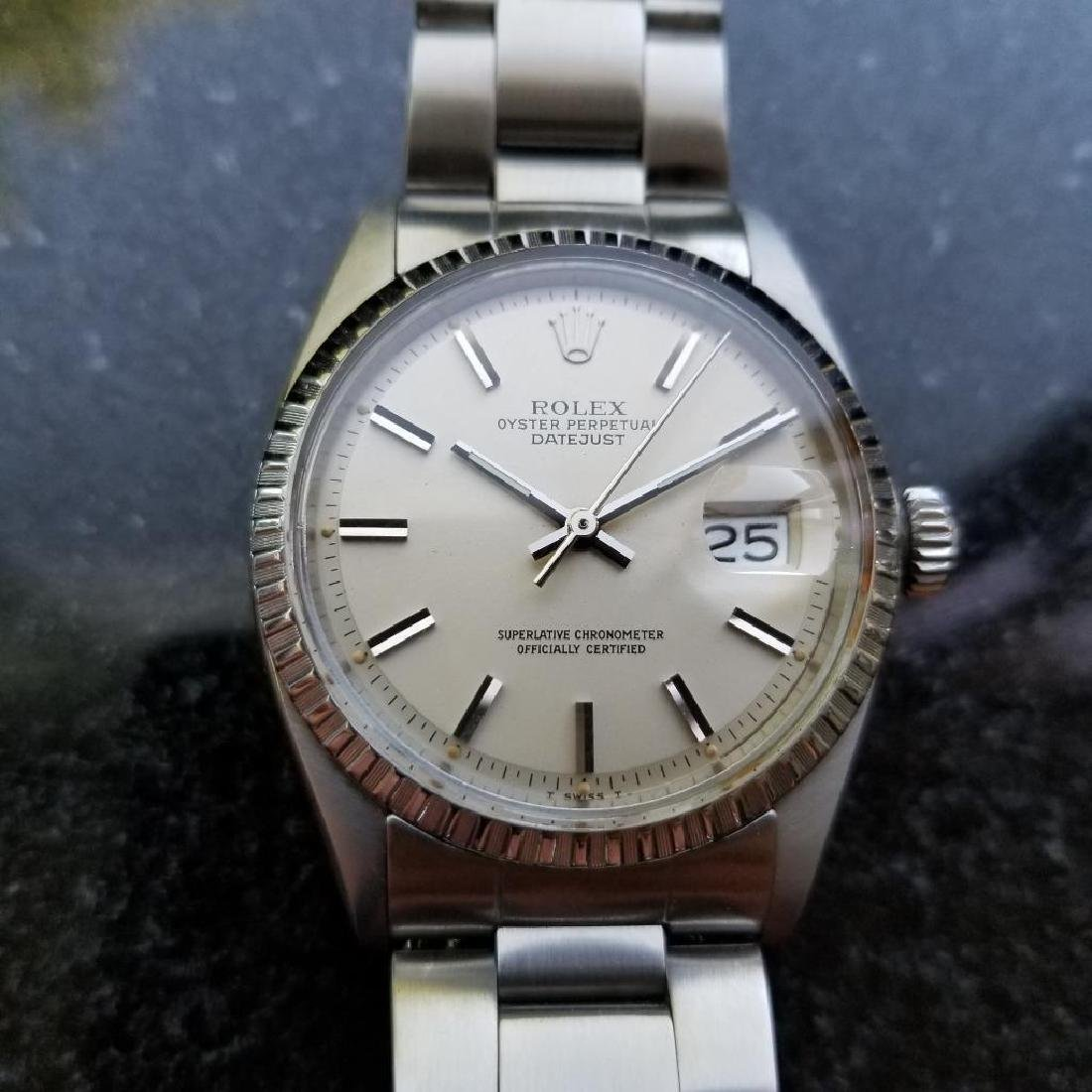 Rolex Oyster Perpetual 1603 Datejust Vintage 1977 Auto - 2