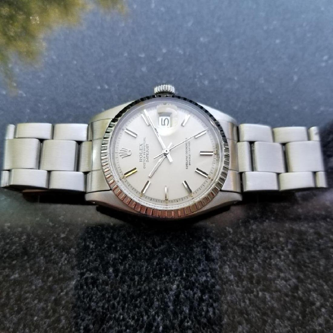 Rolex Oyster Perpetual 1603 Datejust Vintage 1977 Auto - 3