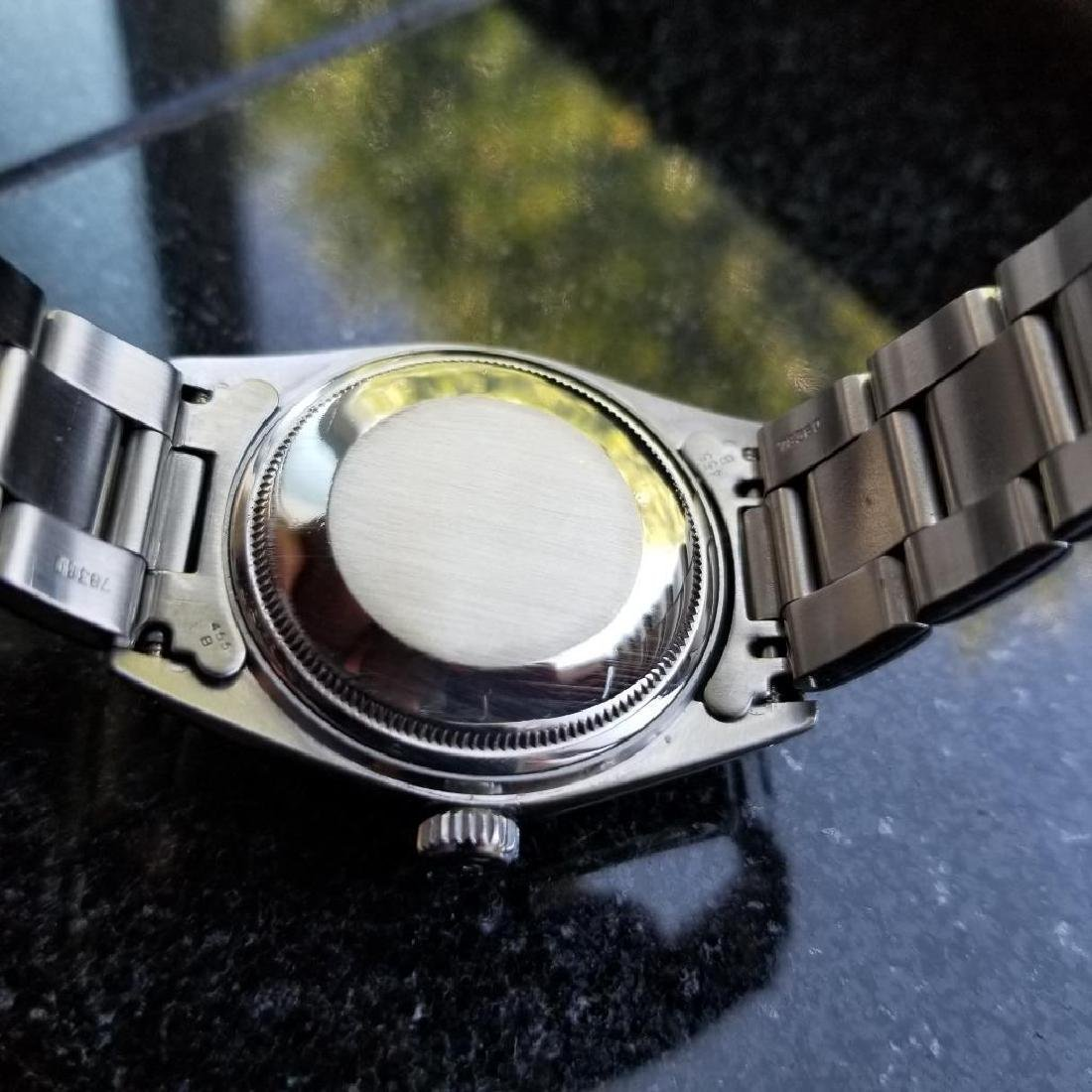 Rolex Oyster Perpetual 1603 Datejust Vintage 1977 Auto - 8