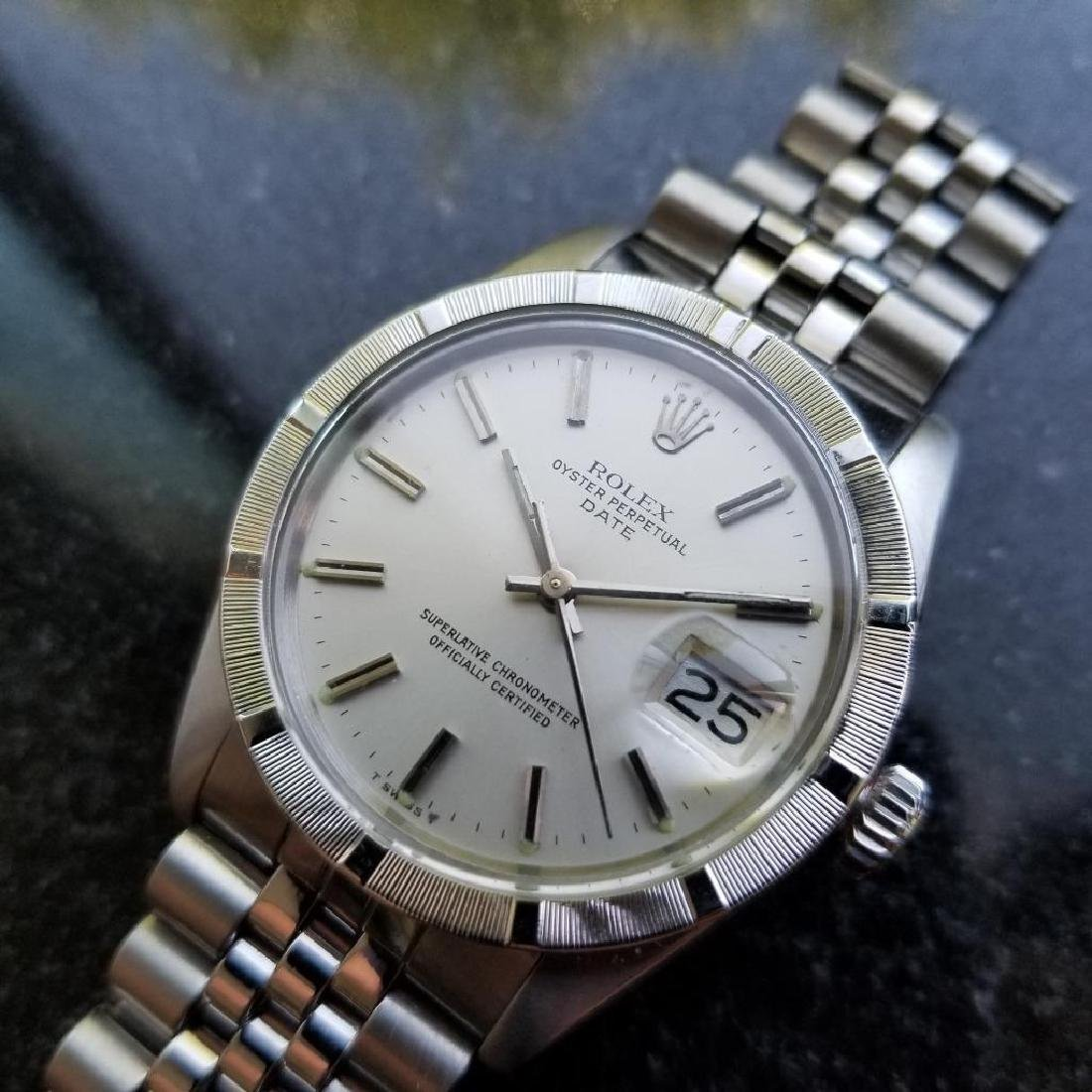 Rolex Oyster Perpetual 1501 Date Vintage 1977 Auto 35mm