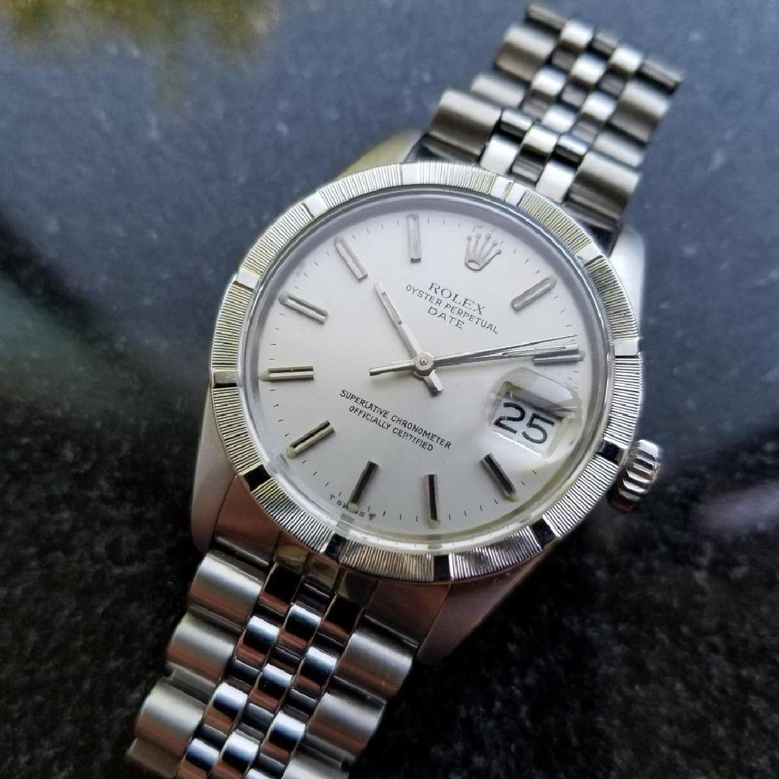 Rolex Oyster Perpetual 1501 Date Vintage 1977 Auto 35mm - 2