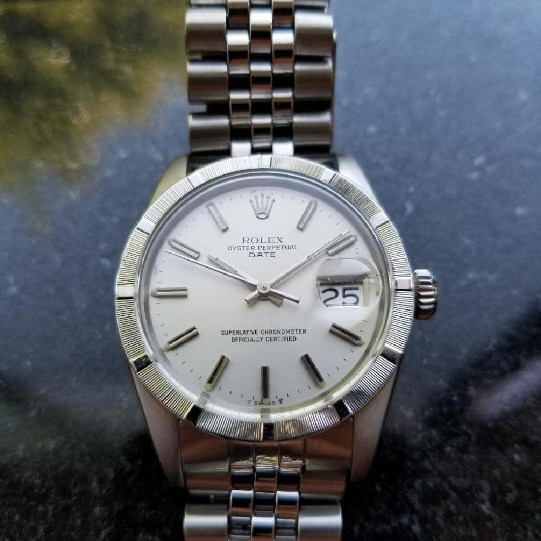 Rolex Oyster Perpetual 1501 Date Vintage 1977 Auto 35mm - 3