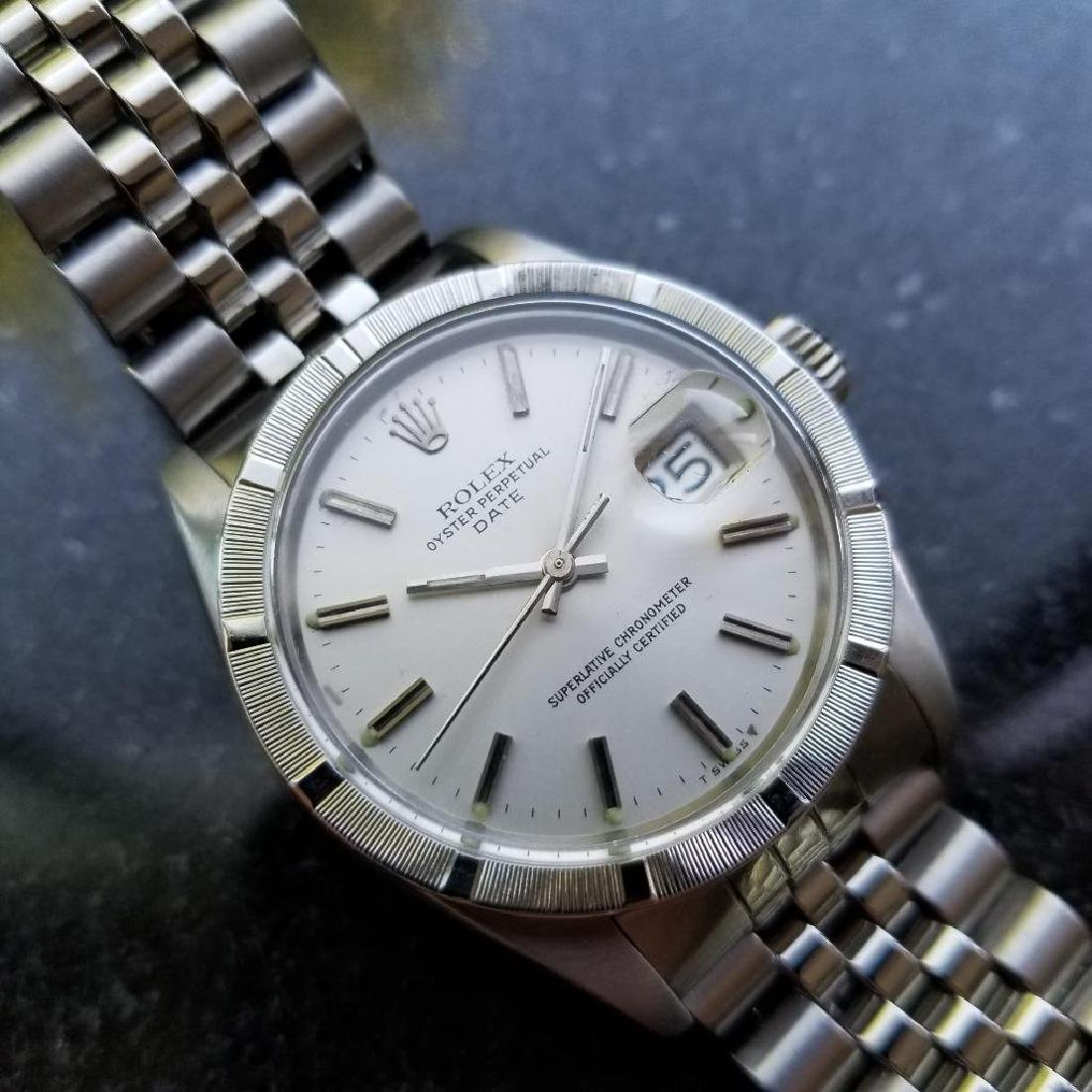 Rolex Oyster Perpetual 1501 Date Vintage 1977 Auto 35mm - 4