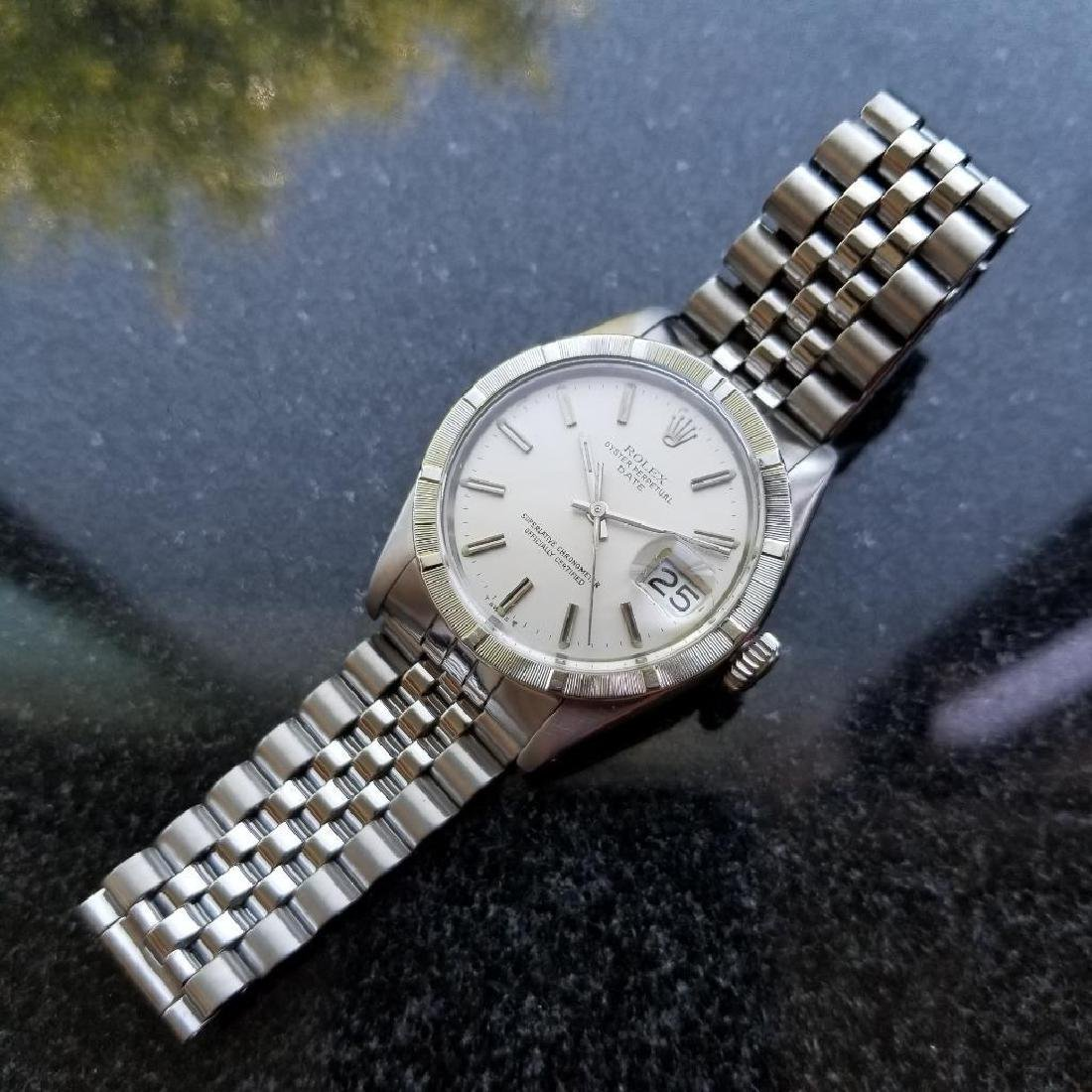 Rolex Oyster Perpetual 1501 Date Vintage 1977 Auto 35mm - 5