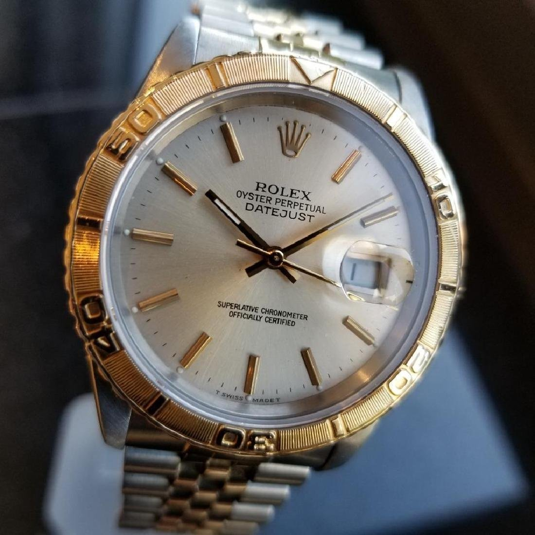 Rolex 1990 Oyster 162633 Automatic Datejust Men's Gold