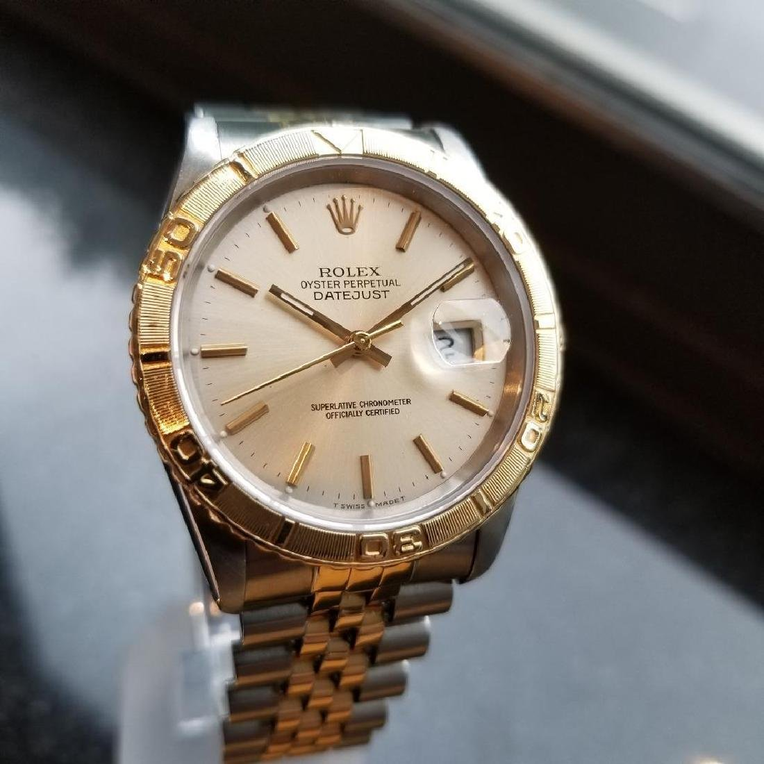 Rolex 1990 Oyster 162633 Automatic Datejust Men's Gold - 2