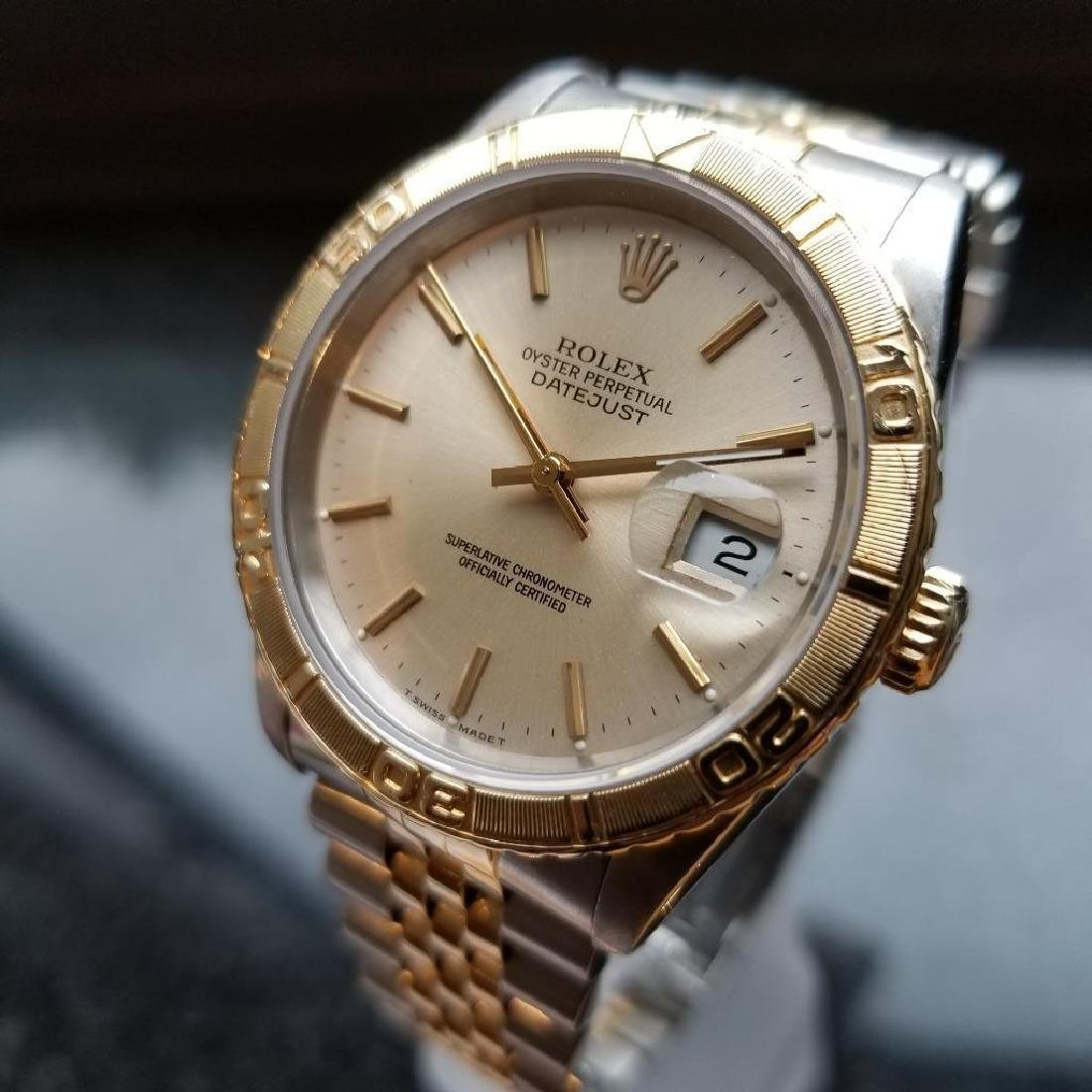Rolex 1990 Oyster 162633 Automatic Datejust Men's Gold - 3