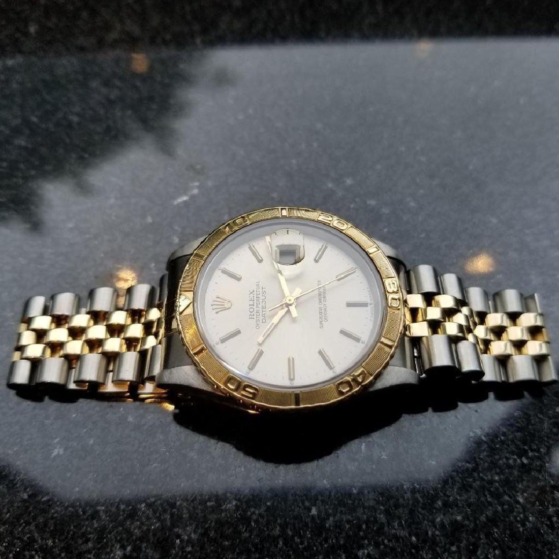 Rolex 1990 Oyster 162633 Automatic Datejust Men's Gold - 5