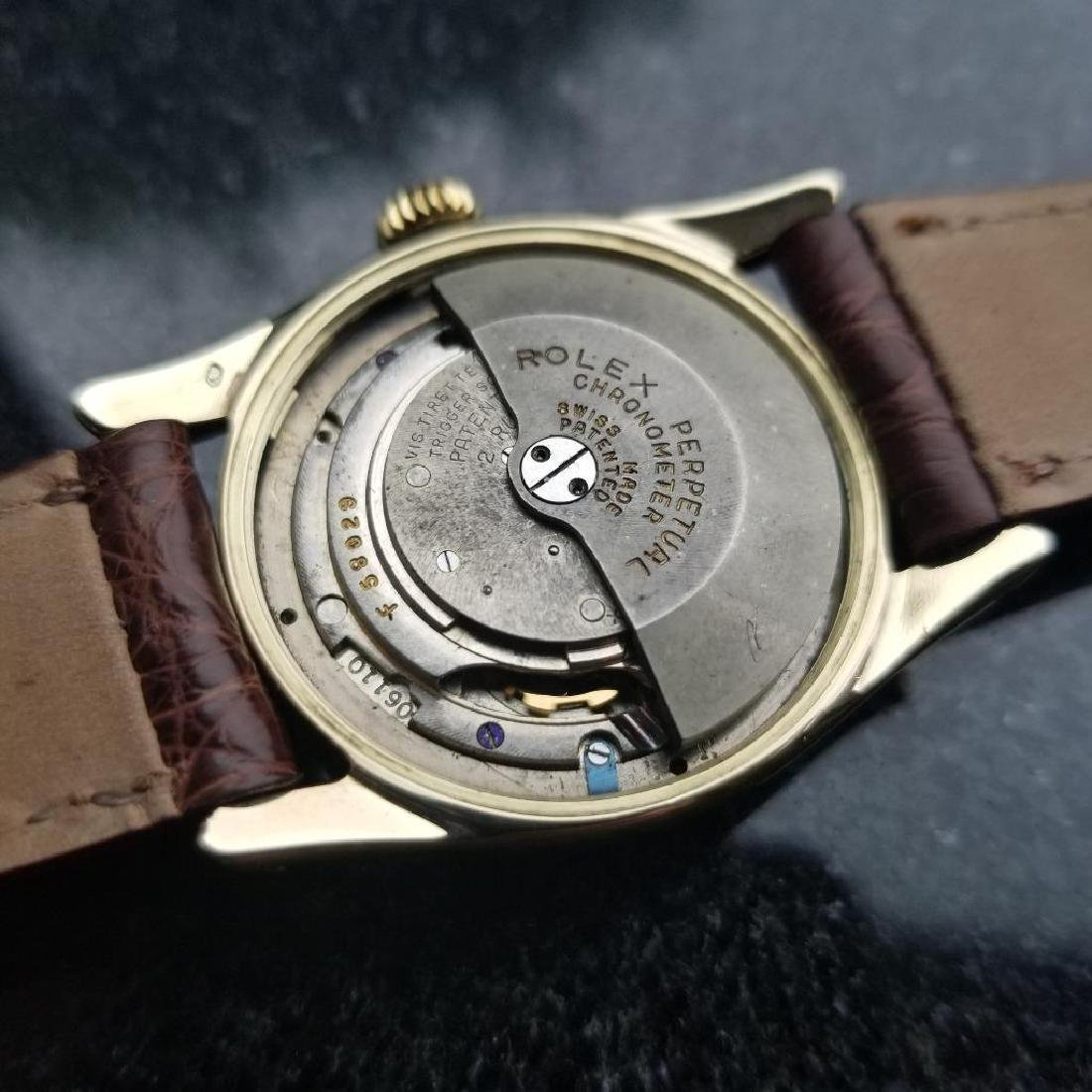 Rolex Oyster Perpetual Vintage 1951 14k Gold 6092 - 10