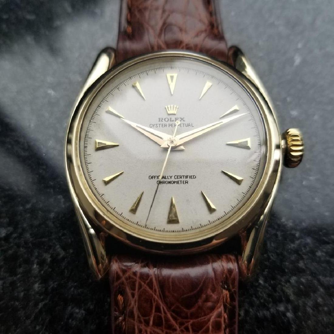 Rolex Oyster Perpetual Vintage 1951 14k Gold 6092