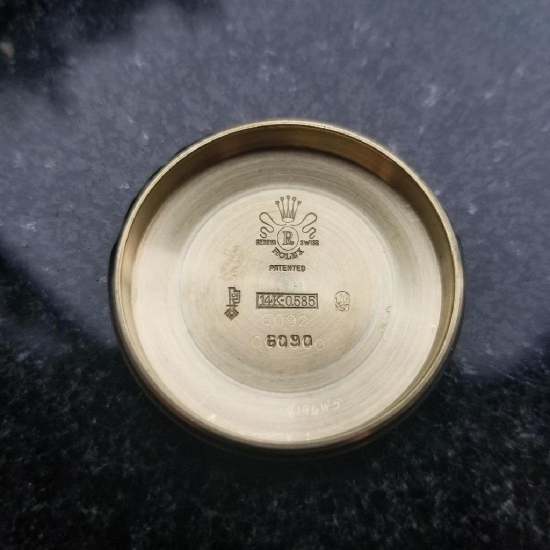 Rolex Oyster Perpetual Vintage 1951 14k Gold 6092 - 9
