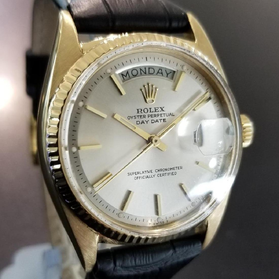 Rolex Vintage Mens 1966 President 1803 Swiss Made 18k