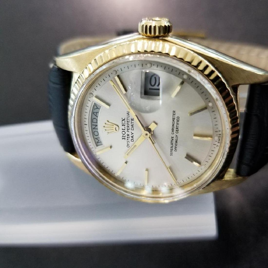Rolex Vintage Mens 1966 President 1803 Swiss Made 18k - 5