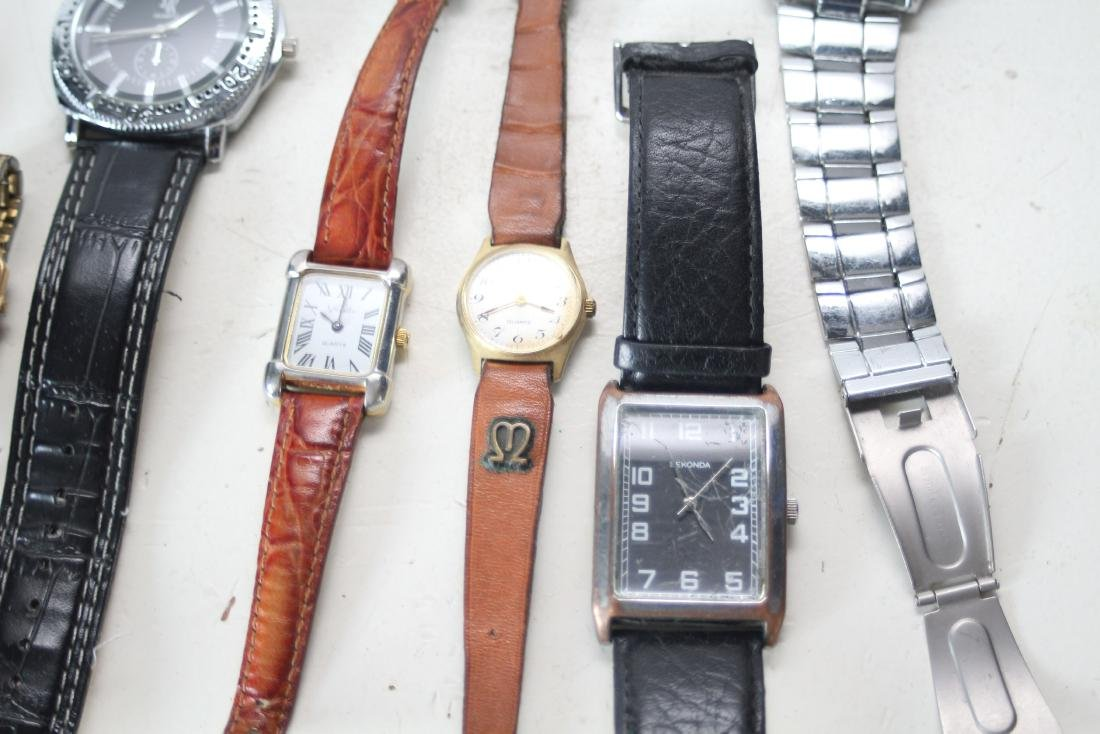 Lot of vintage mechanical and quartz 18 watches - 3