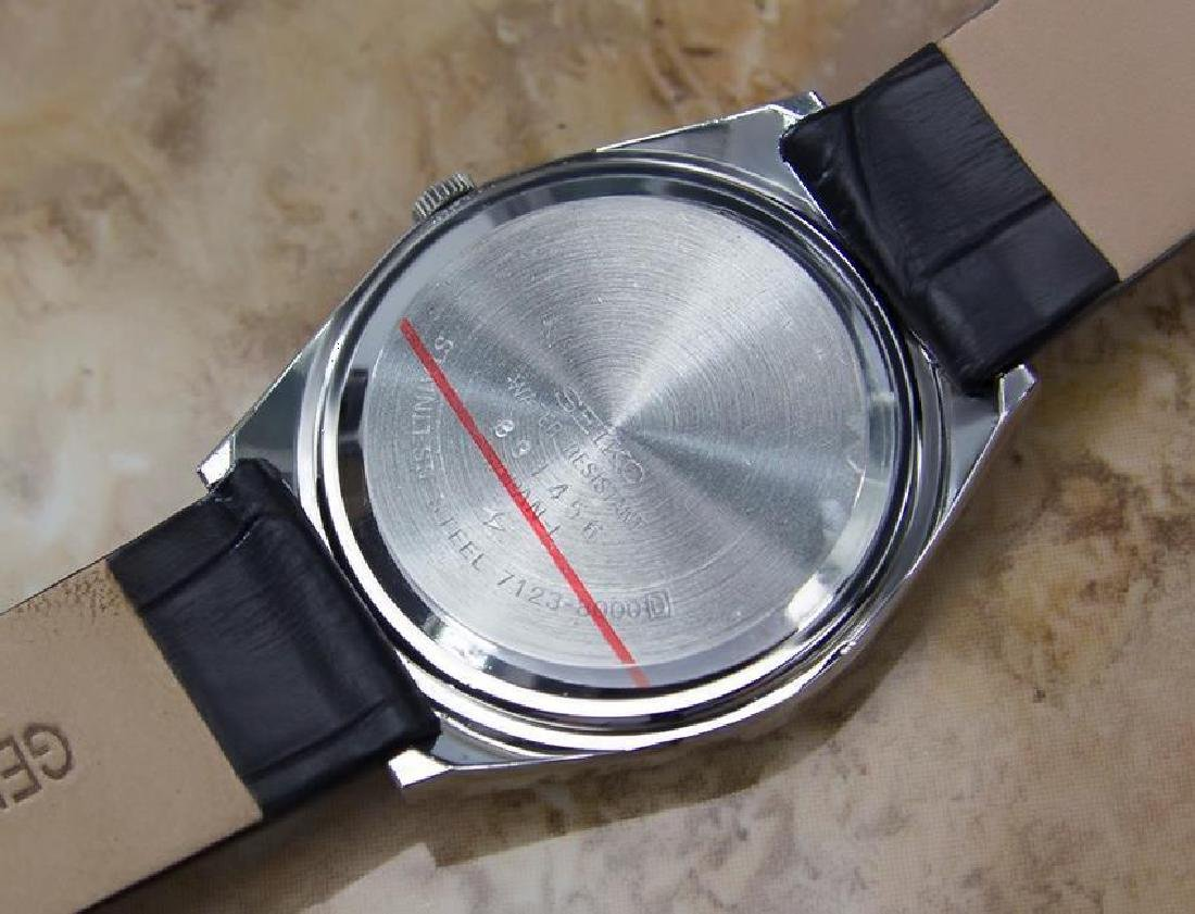 Seiko Type II Quartz 1980s Made in Japan Stainless - 8