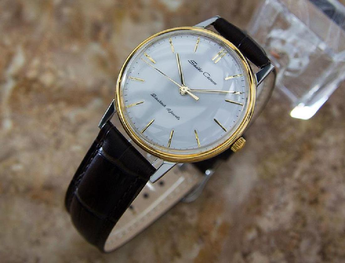 Seiko Crown 1960 Vintage Manual Japanese Stainless - 3