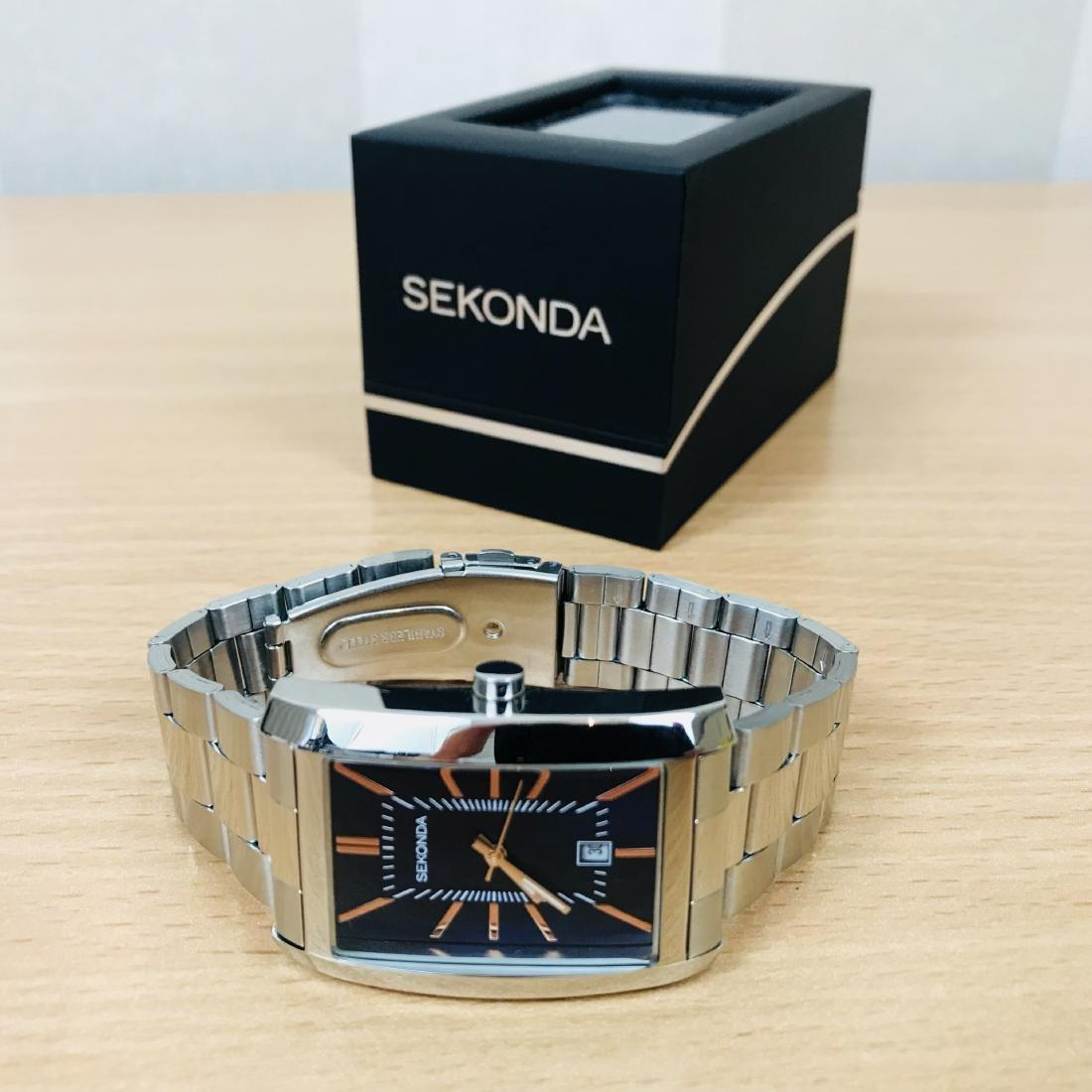 SEKONDA Classic Rectangular Watch - 10