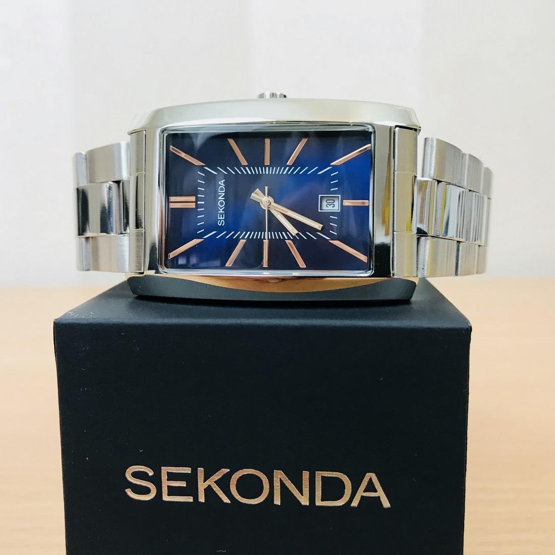 SEKONDA Classic Rectangular Watch - 2