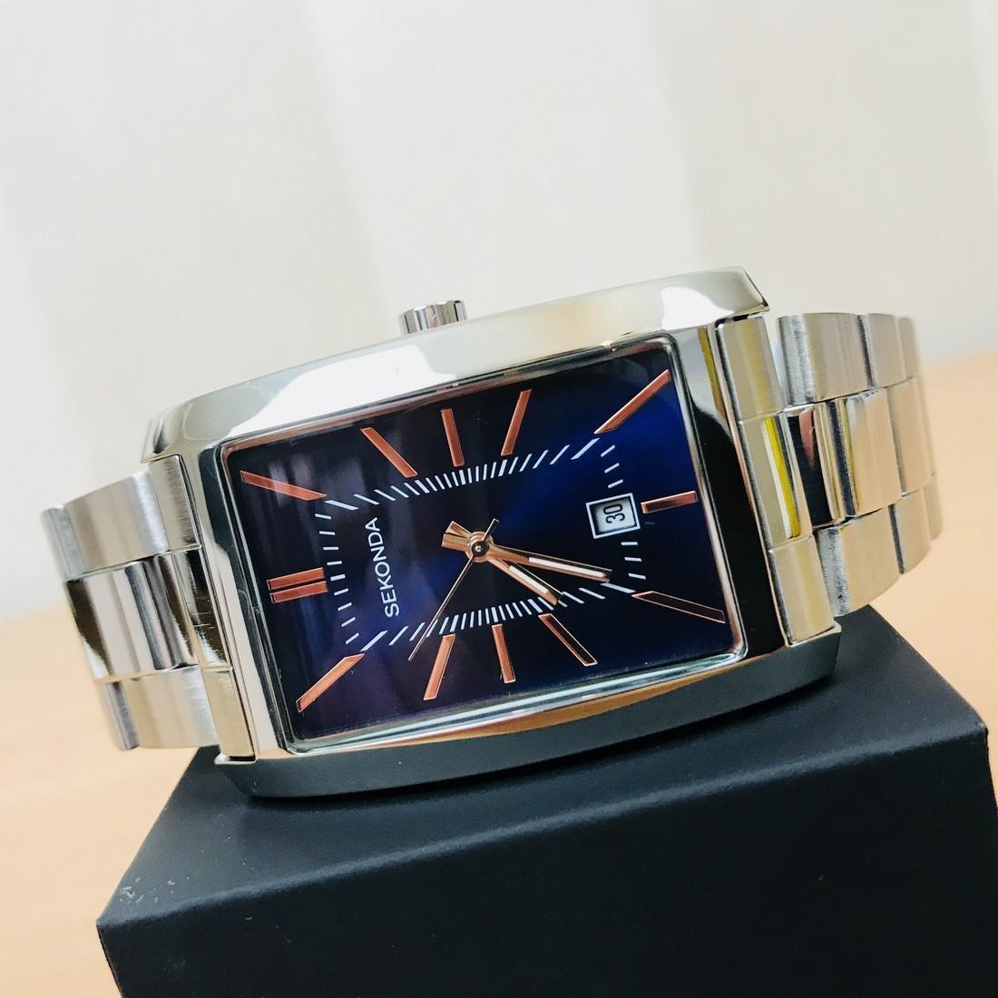 SEKONDA Classic Rectangular Watch - 3
