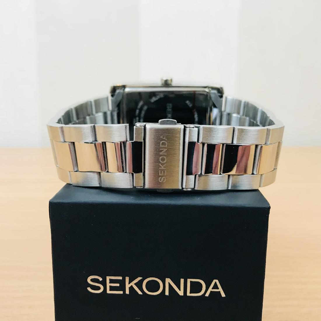 SEKONDA Classic Rectangular Watch - 5