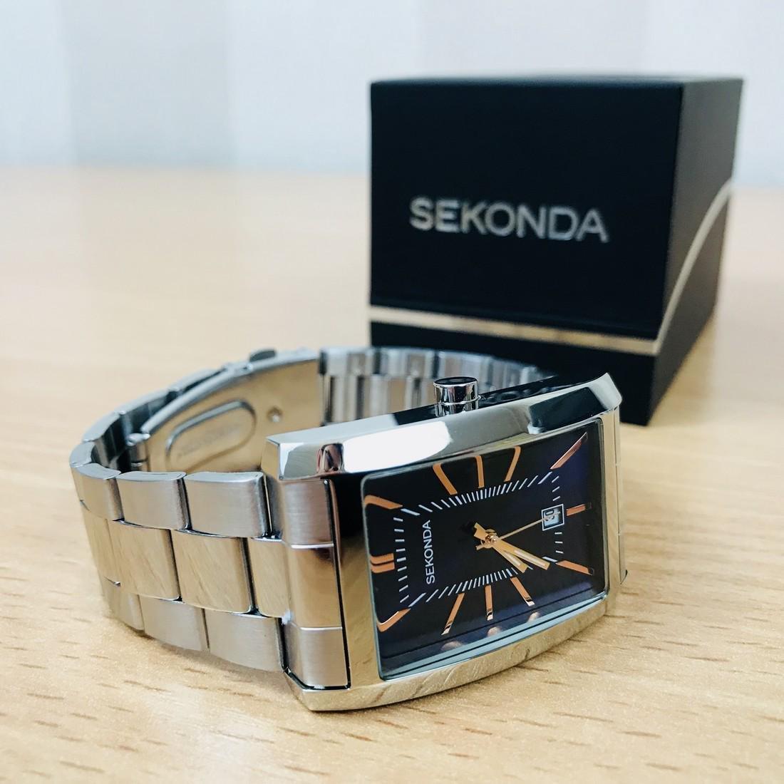 SEKONDA Classic Rectangular Watch - 9