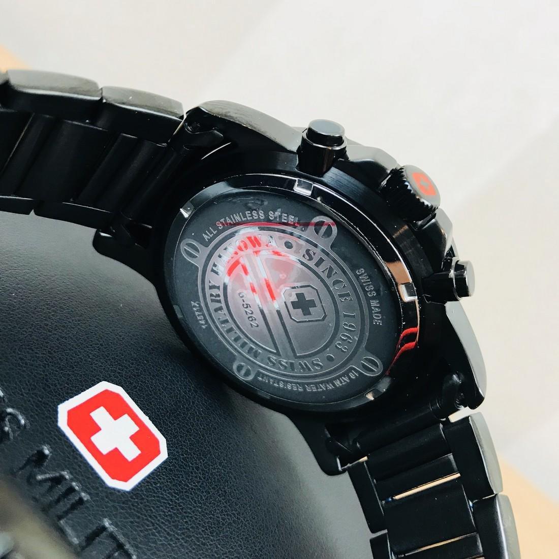 Swiss Military Hanowa – Swiss Made Chronograph Watch - 4