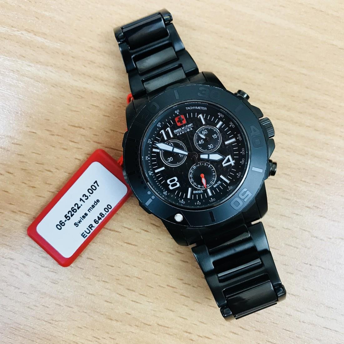 Swiss Military Hanowa – Swiss Made Chronograph Watch - 8