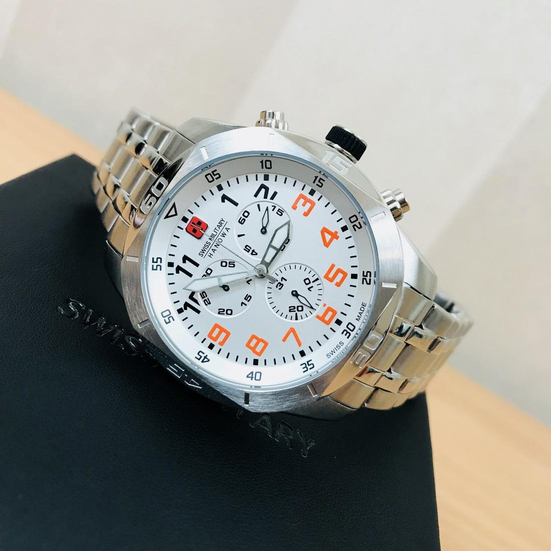 Swiss Military Hanowa – Swiss Made Chronograph Watch - 2