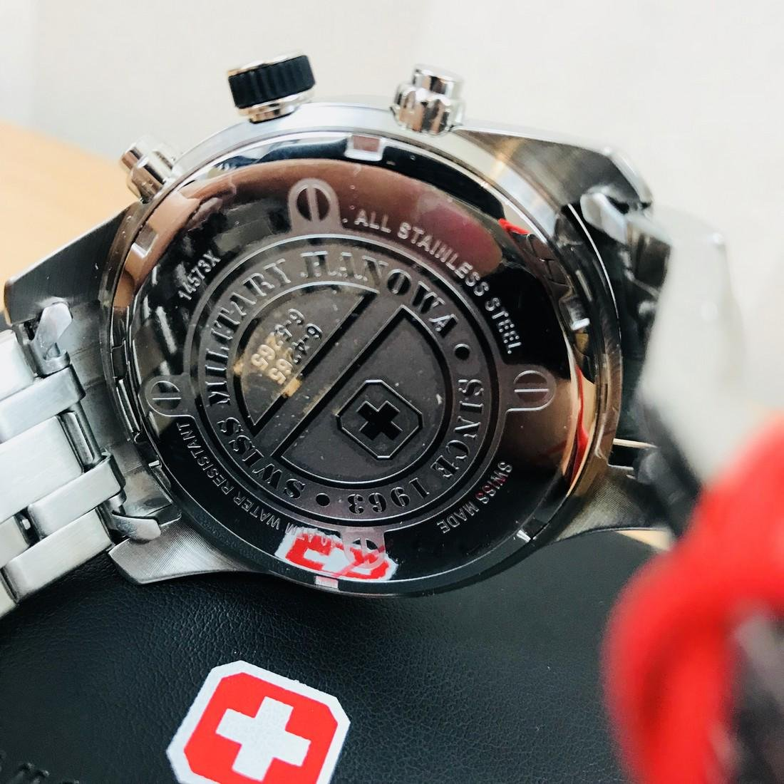 Swiss Military Hanowa – Swiss Made Chronograph Watch - 5