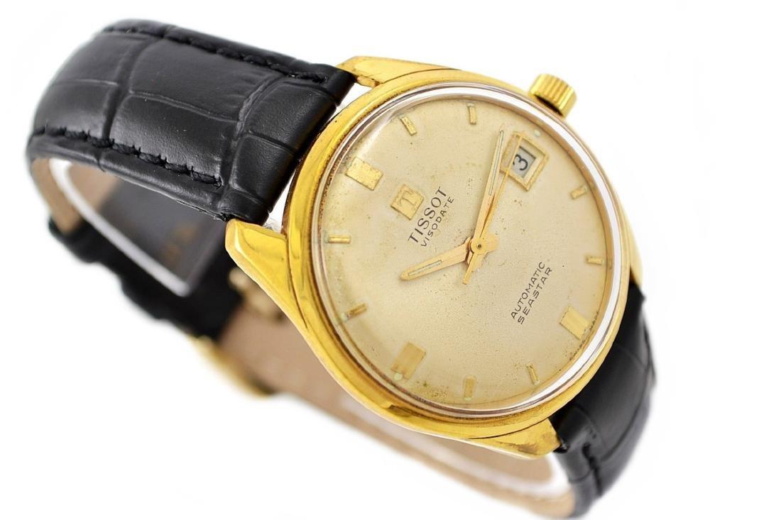 Vintage Tissot Seastar Visodate Midsize Gold Plated - 2